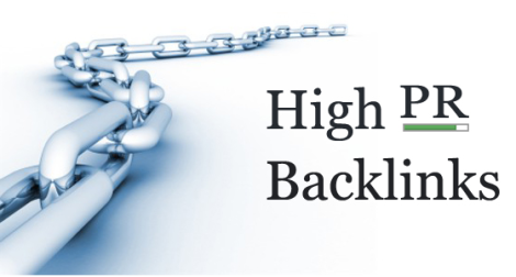 High PR Back-links